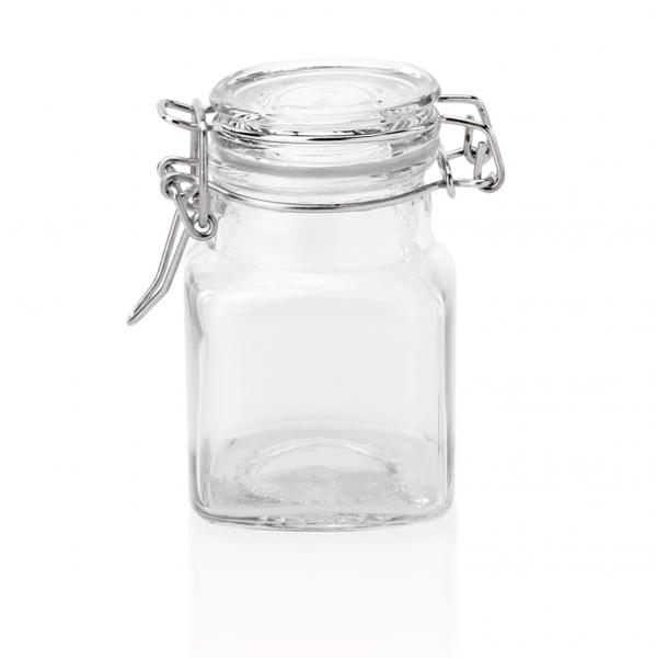 Petit-Bügelverschlussglas, 0,10 ltr., 5 x 5 x 8 cm