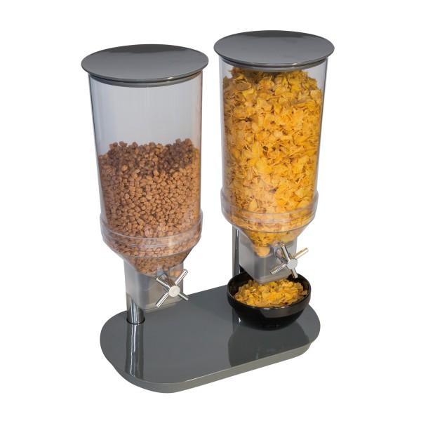 Cerealienspender -DUO- 24 x 37,5 cm, H: 49,5 cm