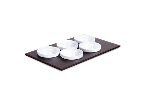 Bowl Module Set 1 - GN 1/1 53 x 32,5 cm, H: 2,4 cm