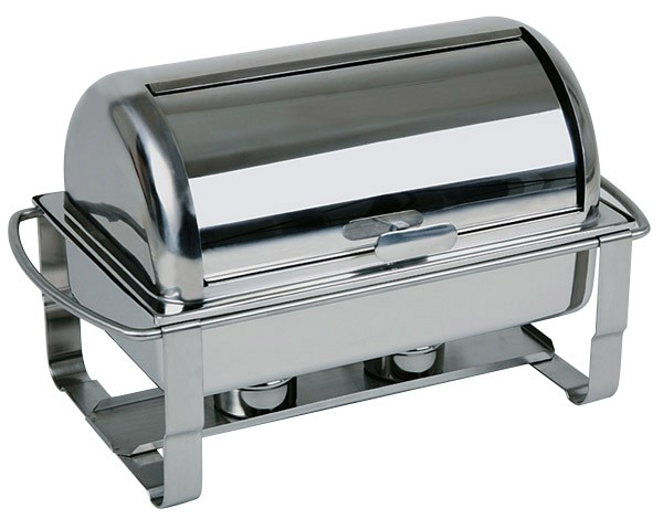 Rolltop-Chafing Dish -CATERER- 67 x 35 cm, H: 45 cm, 9 Liter