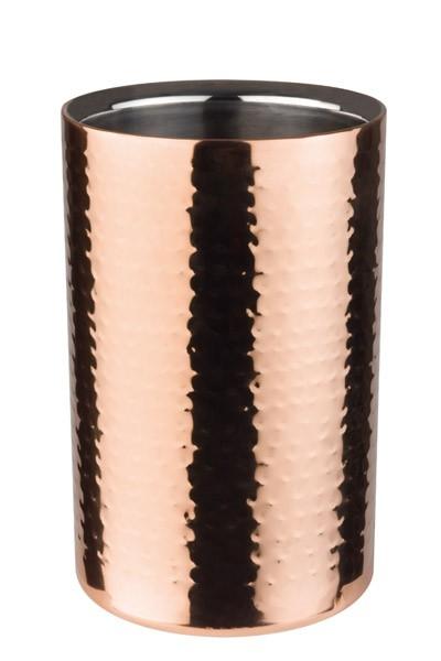 Flaschenkühler -COPPER- außen Ø 12 cm, H: 20 cm