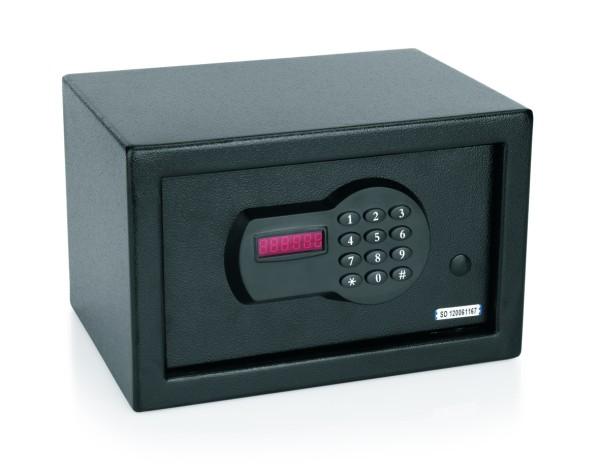 Hotelsafe/Zimmersafe, 4-6 stelliger Pincode, USB Anschluss zum Auslesen und Drucken der letzten 100