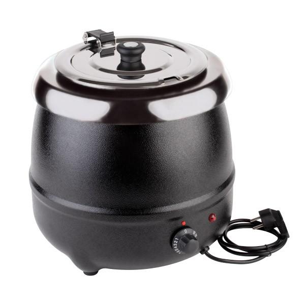 Elektrischer Suppentopf Ø 32 cm, H: 36 cm, 9 Liter