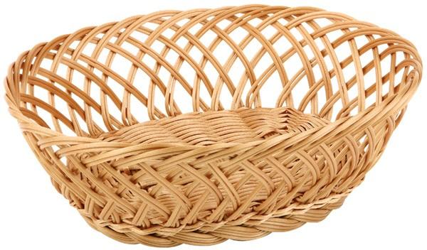 Brot- und Obstkorb 27 x 20 cm, H: 10 cm