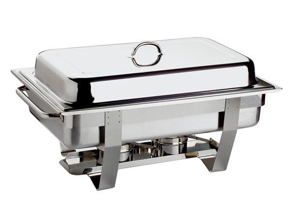 Chafing Dish - CHEF PLUS- 61 x 31 cm, H: 30 cm, 9 Liter
