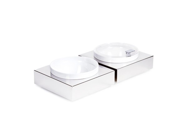 Bowl Box L - eckig 26,5 x 26,5 cm, H: 8,5 cm