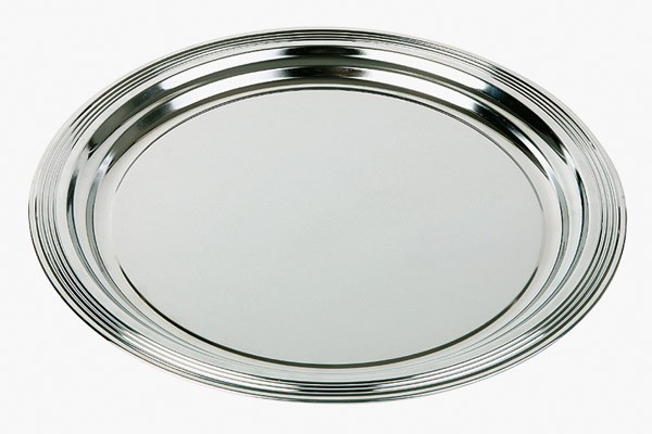 Partyplatte -CLASSIC- Ø 35 cm, Metall
