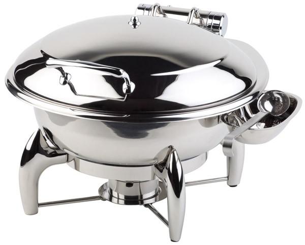 Chafing Dish -GLOBE- Ø 38,5 cm, H: 34 cm, 6 Liter