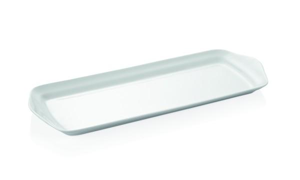 Platte, 37 x 14 cm, Porzellan