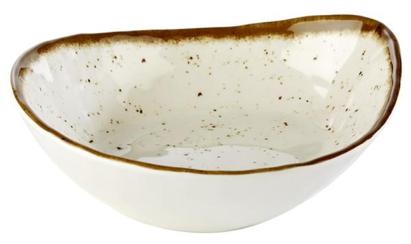 "Ovale Schale ""STONE ART"" aus Melamin / 23 x 19 cm, Inhalt: 0,6 ltr."