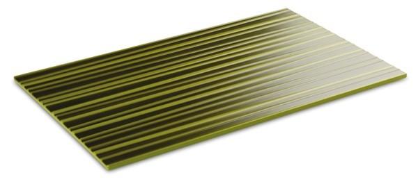 "Melamin Tablett, Serie ""ASIA PLUS"", grün Bambus, eckig, verschiedene Gastonormgrößen wählbar"