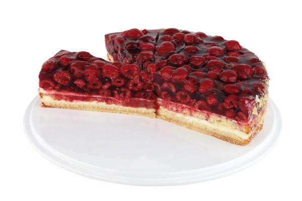 Tortenplatte Ø 31 cm, H: 4 cm