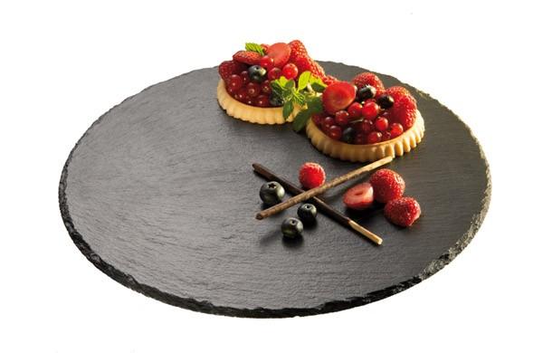 Tortenplatte / Servierplatte Ø 32 cm, H: 2,5 cm