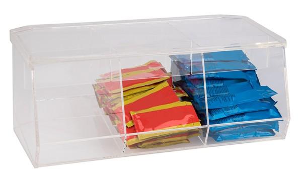 Universalbox mit 3 Fächern 41,5 x 20,5 cm, H: 16 cm