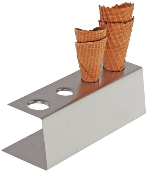 Eiswaffel-Ständer 9,5 x 27,5 cm, H: 9 cm