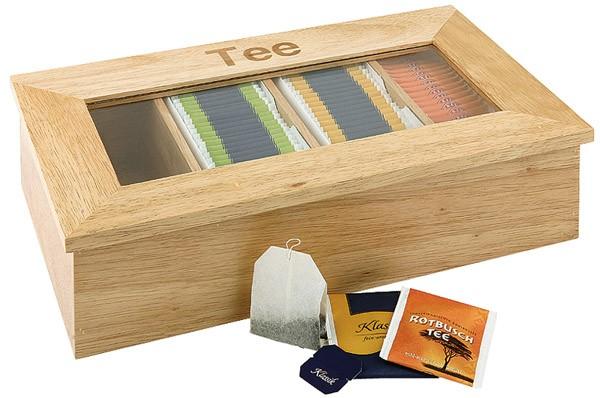Teebox 33,5 x 20 cm, H: 9 cm