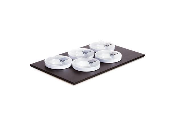 Bowl Module Set 2 - GN 1/1 53 x 32,5 cm, H: 2,4 cm