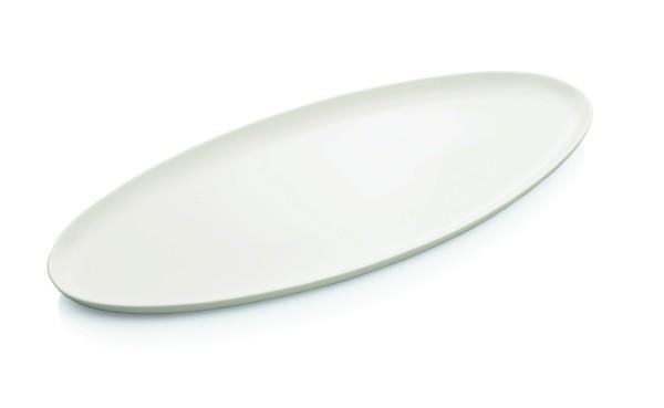 Fischplatte aus Porzellan, Abmessung: 65 x 29 cm