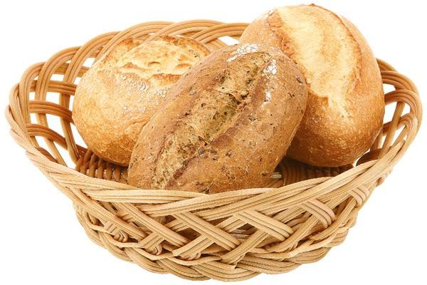 Brot- und Obstkorb Ø 23 cm, H: 7 cm