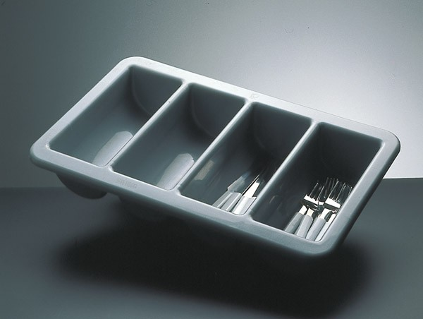 GN 1/1 Besteckbehälter 53 x 32,5 cm, H: 10 cm