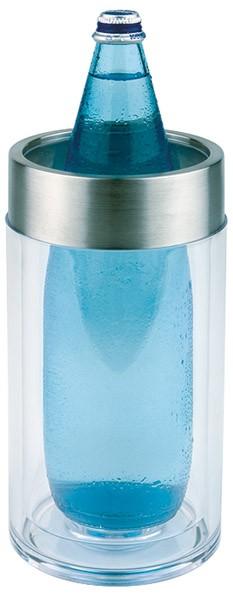 Flaschenkühler außen Ø 11,5 cm, H: 23 cm