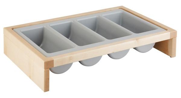 Besteckbehälter -BRIDGE- 57,5 x 37 cm, H: 12 cm