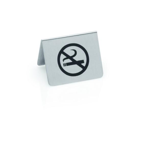 Nichtraucherschild aus CNS | Abm.: 5,5 x 5 x 3,5 cm
