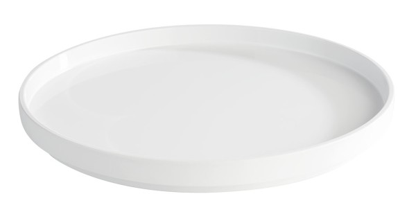 """Melamin Tablett, Serie """"ASIA PLUS"""", weiss, rund, Größen von 30-48,5 cm Ø wählbar"""
