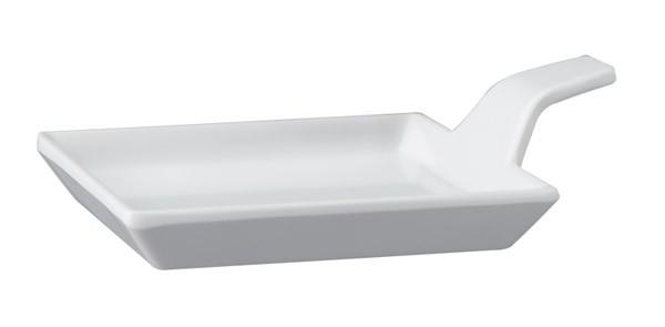 Fingerfood-Teller 9,5 x 9,5 cm, H: 1,5 / 3,5 cm