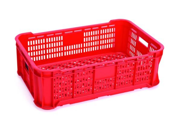 GN Transport-/Lagerkasten in rot, rund