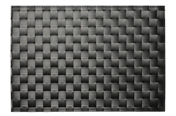 Tischset - schwarz 45 x 33 cm