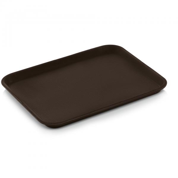 Tablett GN 1/2, braun, Polypropylen
