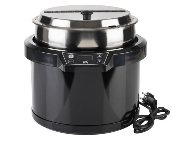 Elektrischer Suppentopf Ø 34 cm, H: 33 cm, 10 Liter