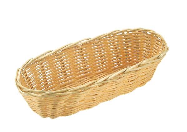Brot- und Obstkorb, oval