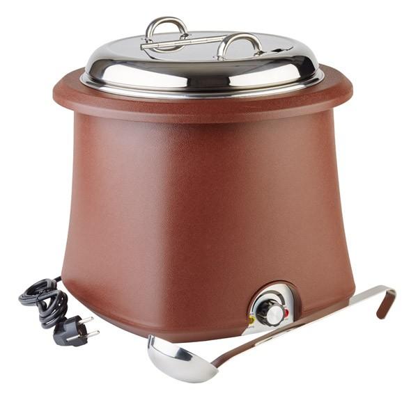 Elektrischer Suppentopf Ø 38 cm, H: 36,5 cm, 10 Liter