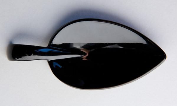 Fingerfood-Löffel -LEAF- 10 x 4,5 cm, H: 1,5 cm
