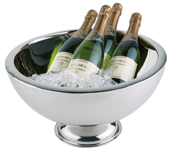 Champagnerkühler Ø 44 cm, H: 24 cm, 10,5 Liter