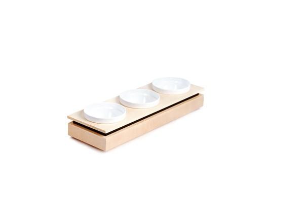 Bowl Board S Set 1 53 x 17,6 cm, H: 8,5 cm