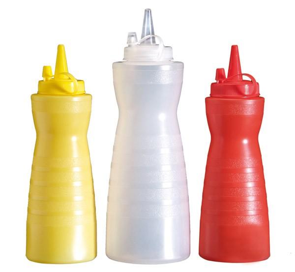 Quetschflasche, gelb