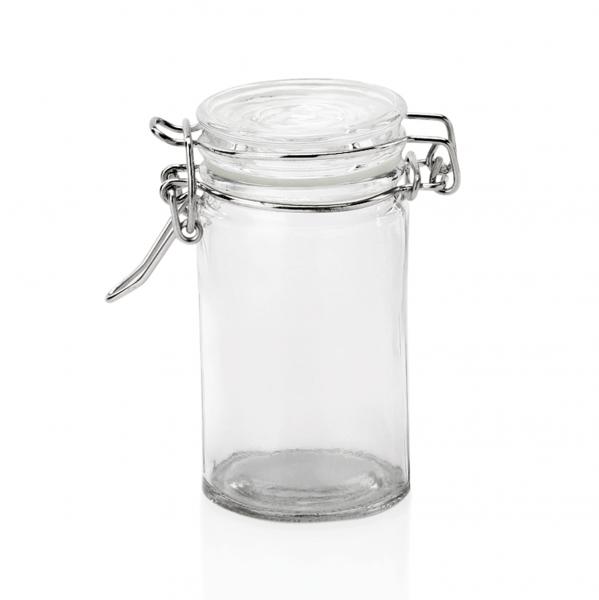 Petit-Bügelverschlussglas, 0,10 ltr., Ø 4,5 cm,