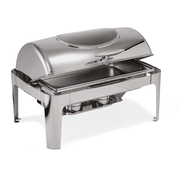 Chafing Dish GN 1/1 mit Roll Top Deckel