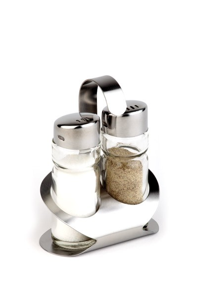 Pfeffer-/Salz-Menage -Pro- 8,5 x 5,7 cm, H: 11,5 cm