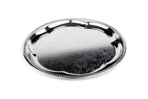 Partyplatte, rund Ø 35 cm, Metall