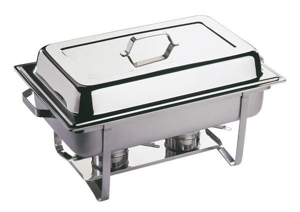 Chafing Dish -TWIN- (2er Set) 61 x 36 cm, H: 30 cm, 9 Liter
