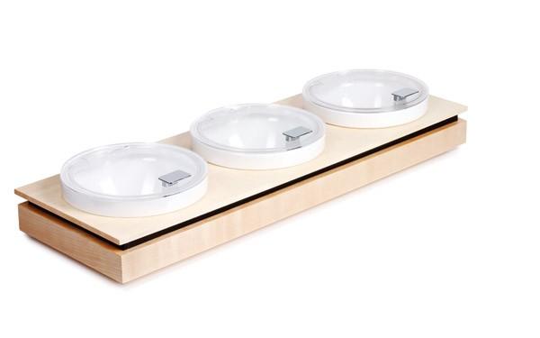 Bowl Board L Set 2 79,5 x 26,5 cm, H: 8,5 cm
