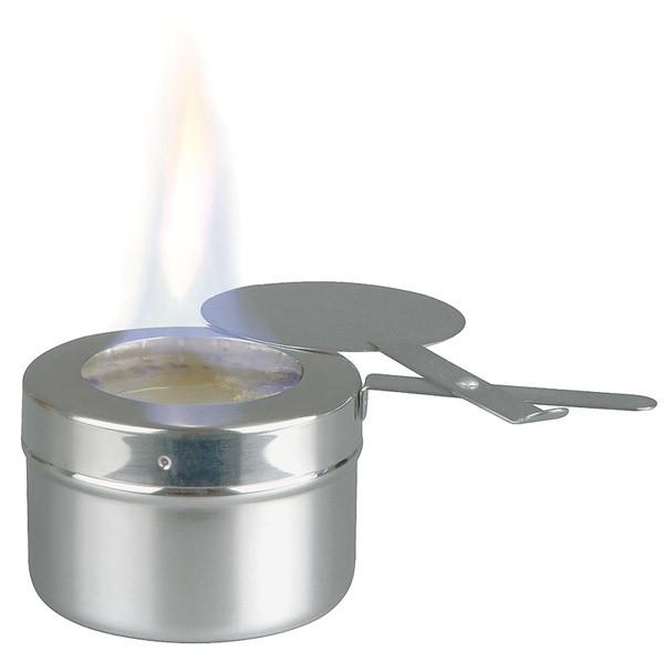 Brennpastenbehälter Ø 9 cm, H: 6 cm