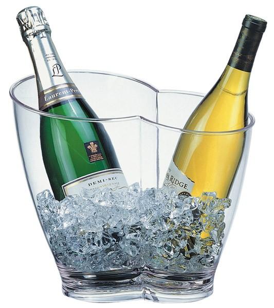 Wein- / Sektkühler 30,5 x 21,5 cm, H: 26 cm
