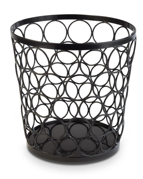 "Buffetkorb, Buffetständer, Serie ""Basket"", schwarz, konisch, 21/15 cm Ø, 21 cm Höhe"
