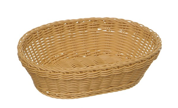 Korb, oval 32 x 23 cm, H: 7 cm