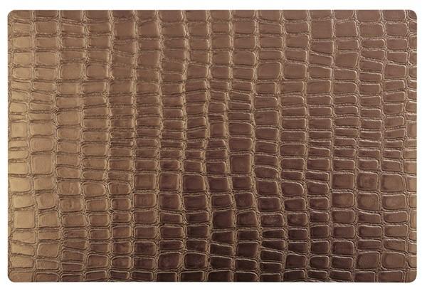 Tischset - kupfer -CROCO- 45 x 30 cm